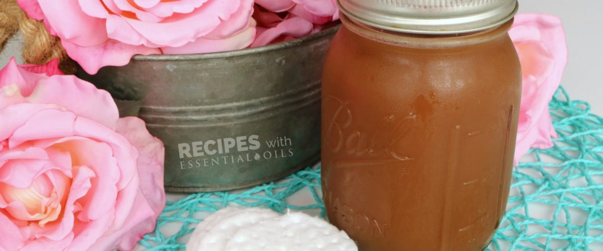 Easy Homemade Rosewater