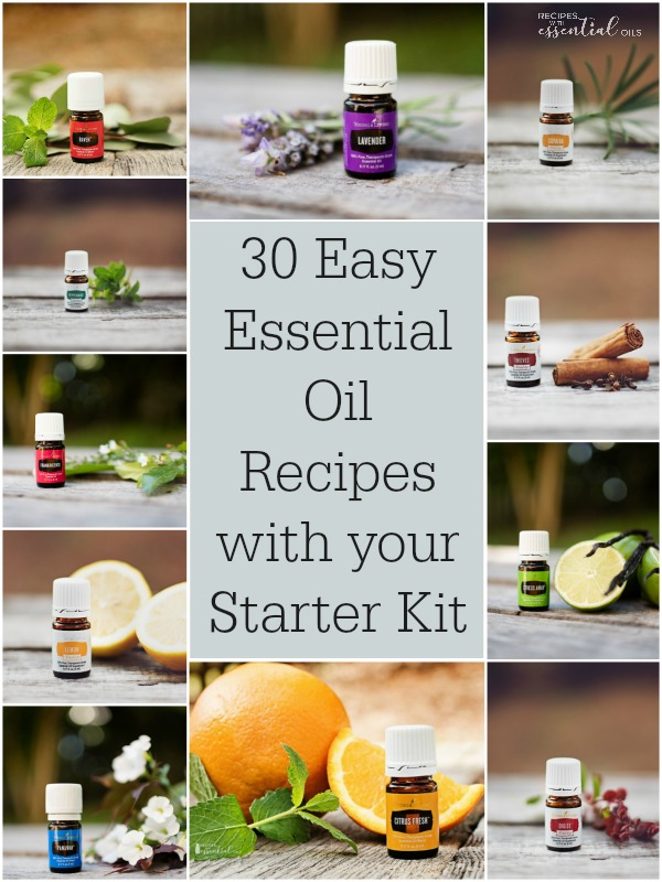 young living starter kit recipes