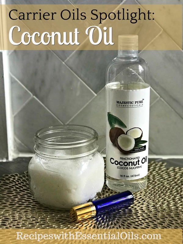 coconut oil roller bottle