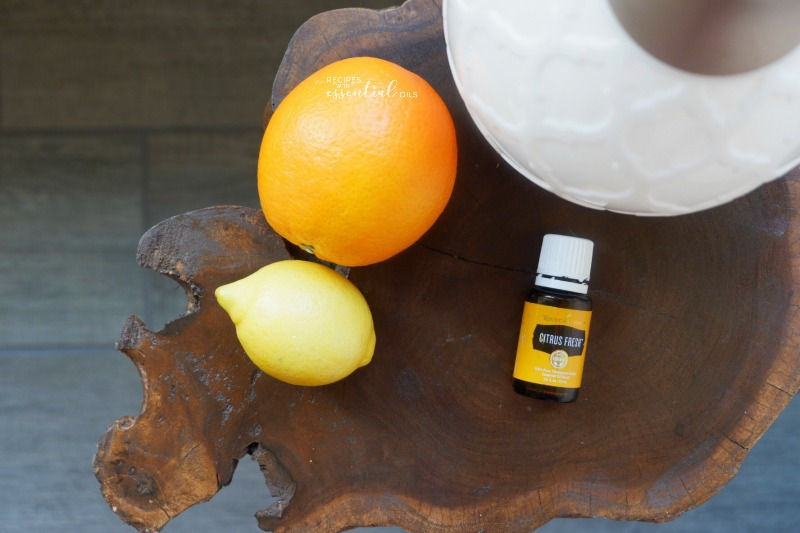 Citrus Fresh Diffuser Recipe