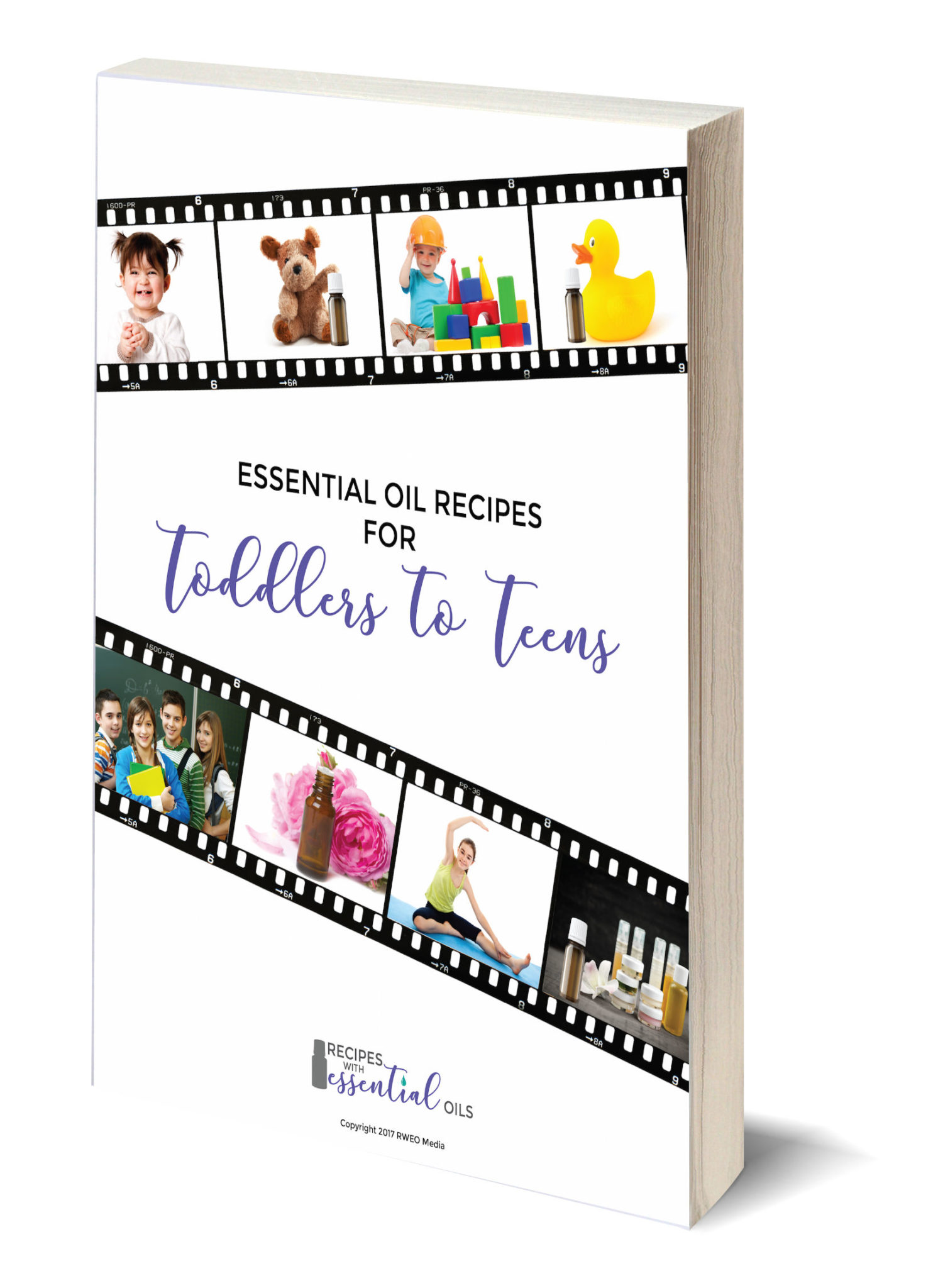 Essential Oil eBook Toddlers to Teens Cover