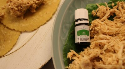 Salsa Lime Chicken recipe vitality essential oils