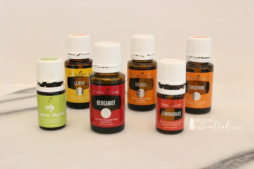 young living citrus oils blends