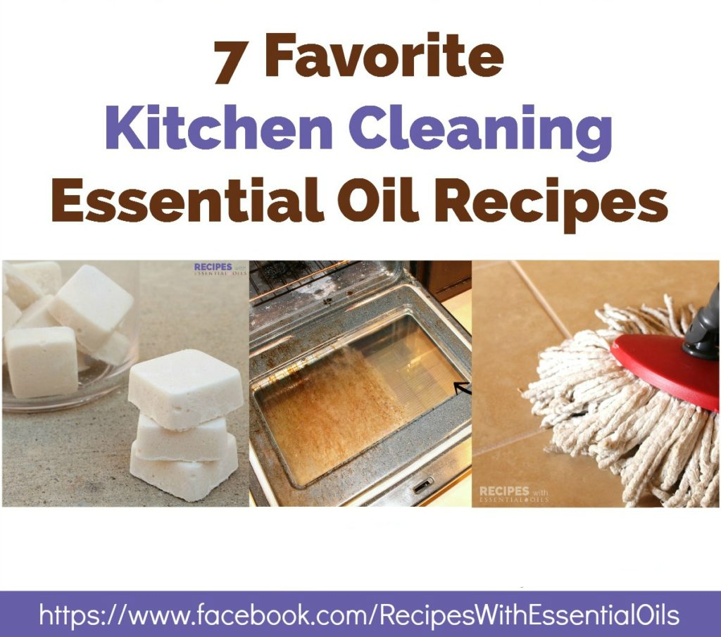 kitchen cleaning recipes printable
