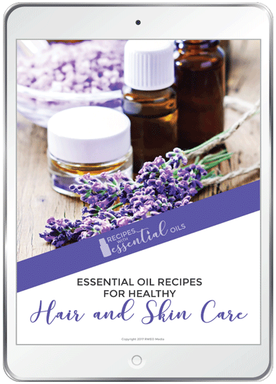healthy Hair and Skin eBook from RecipewithEssentialOils.com