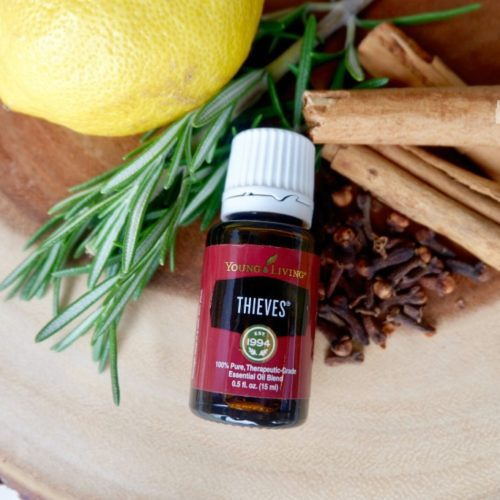 Thieves Essential Oil Lemon Cinnamon Clove