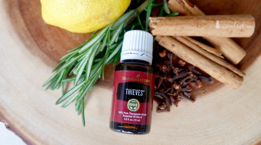 Thieves Essential Oil Lemon Cinnamon Clove