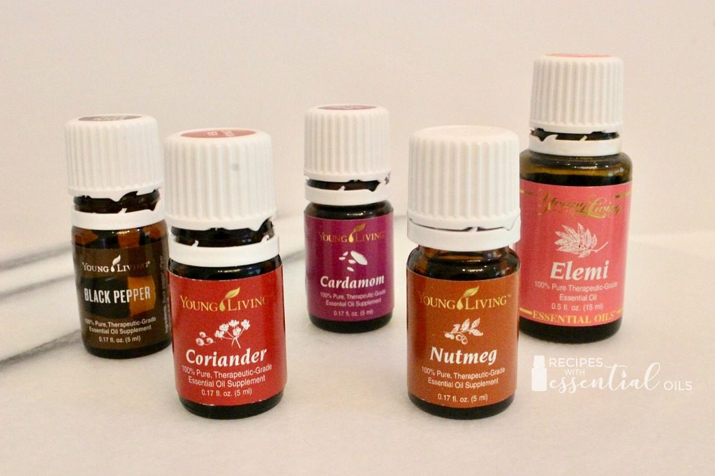 spicy essential oils young living