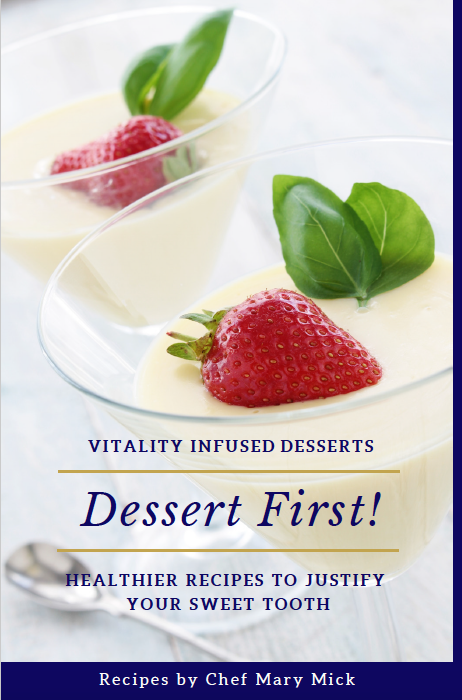 Dessert First Vitality Cookbook Essential Oils
