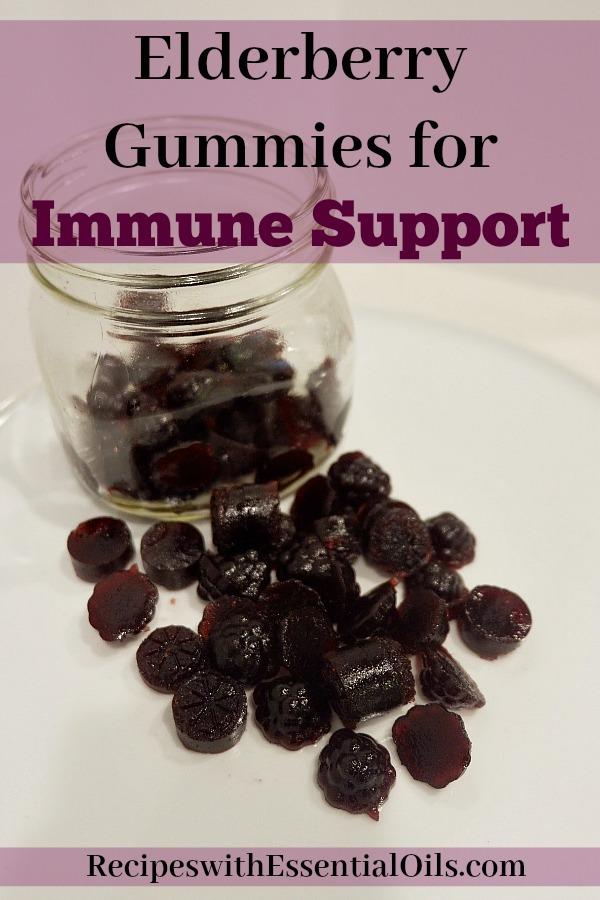 Elderberry Gummies for Immune Support Simple Recipe