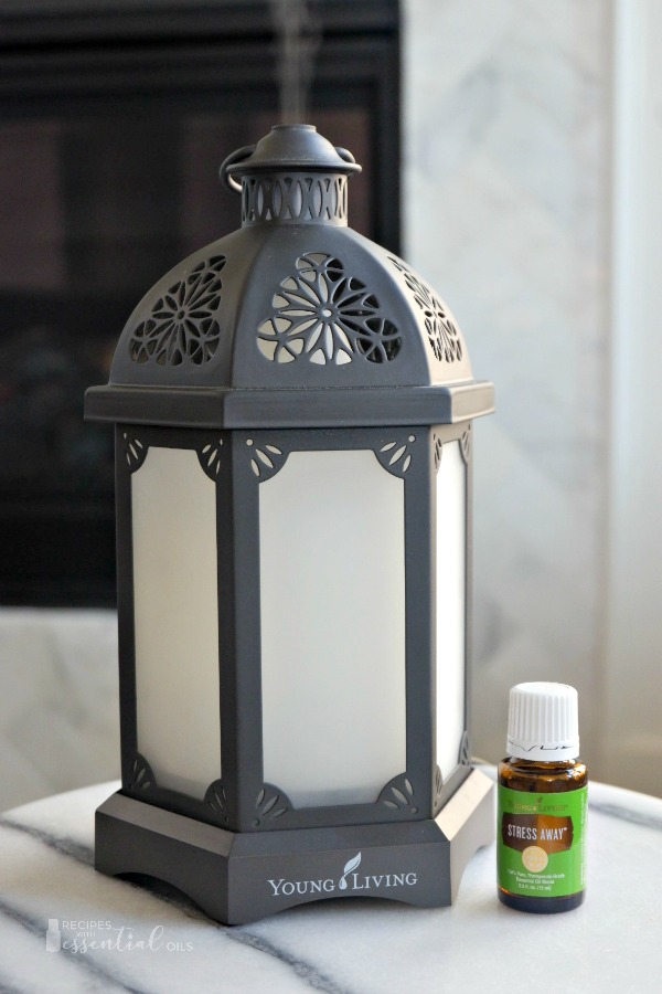 young living lantern diffuser stress away essential oil