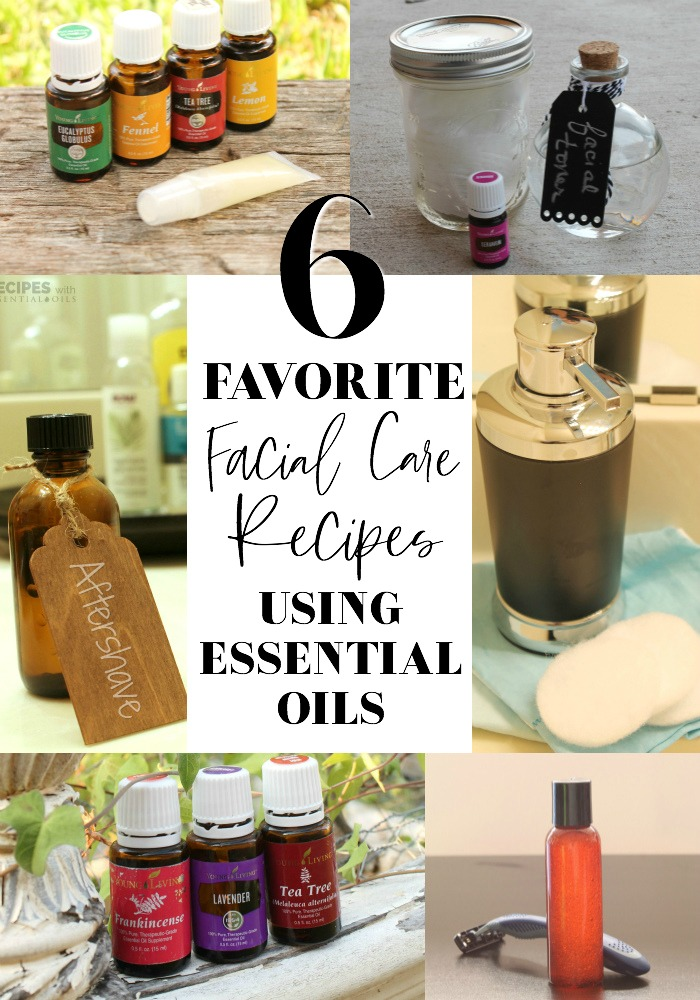 favorite facial care recipes using essential oils