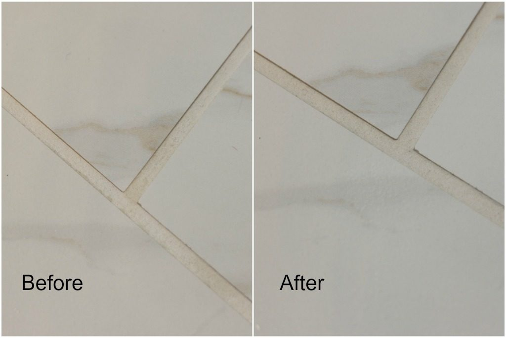 natural grout cleaner recipe before and after results drill brush