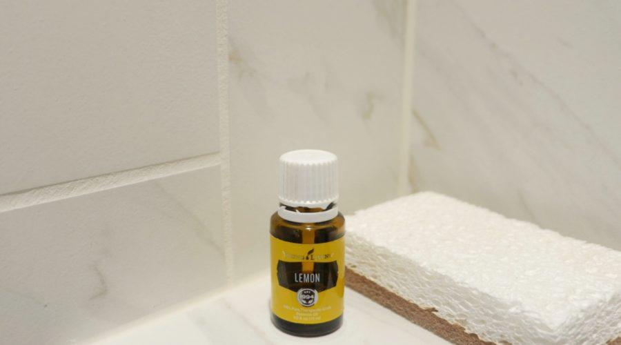grout cleaner recipe lemon essential oil