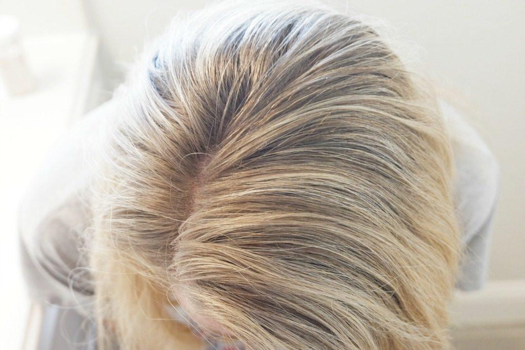 dry shampoo recipe light blonde hair essential oils