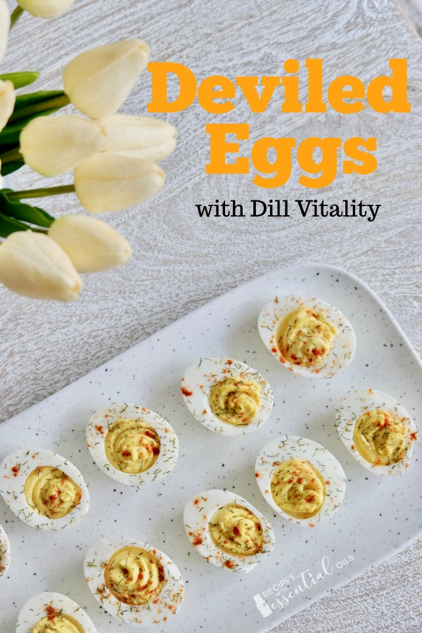 deviled egg recipe using dil essential oil easter dish