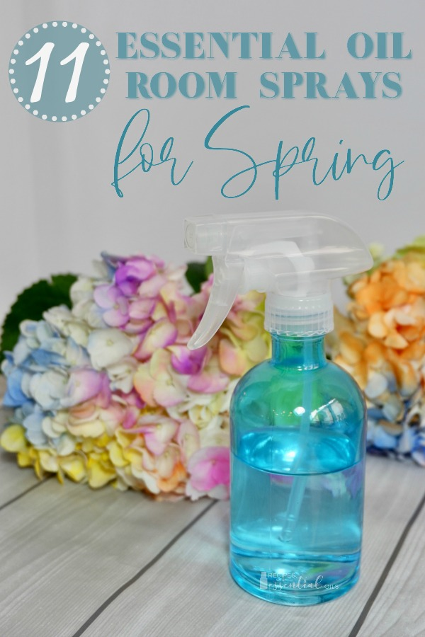 essential oil room spray recipes spring flowers