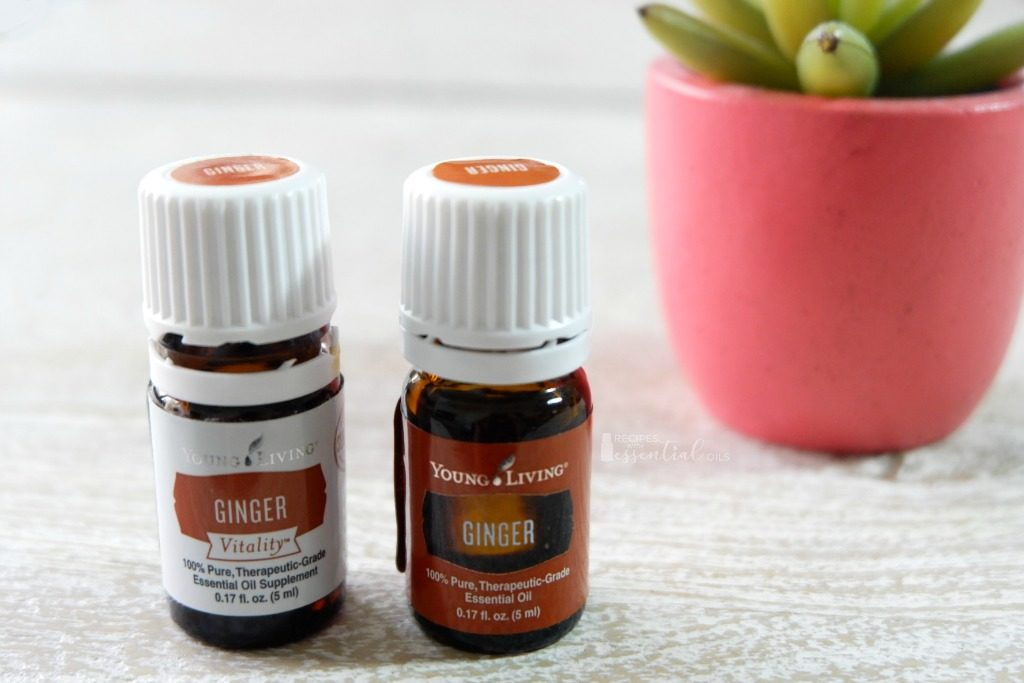 ginger essential oil ginger vitality young living