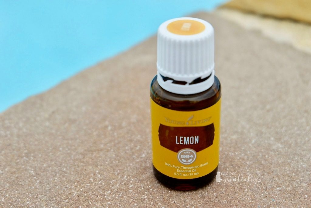 lemon essential oil summer young living