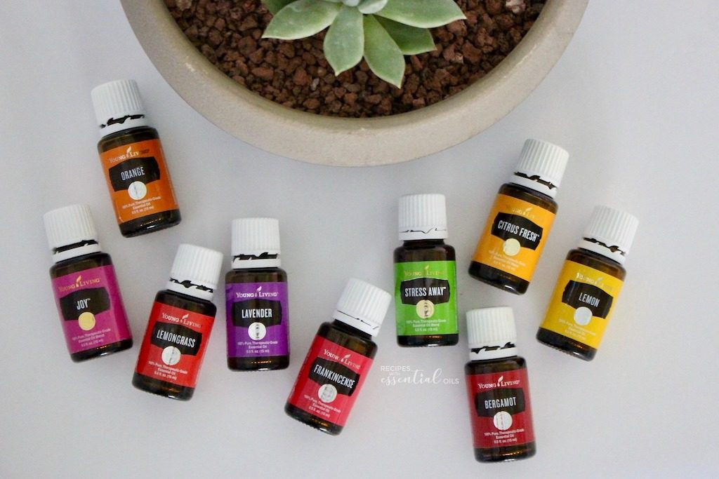 young living essential oils succulents