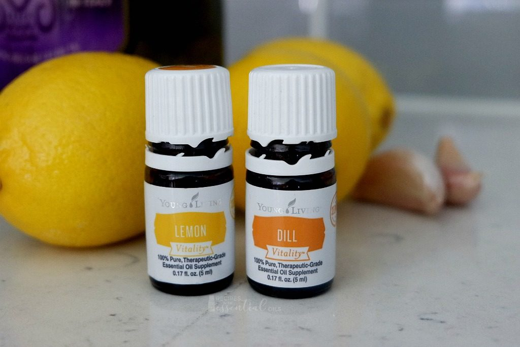 lemon dill vitality essential oils young living