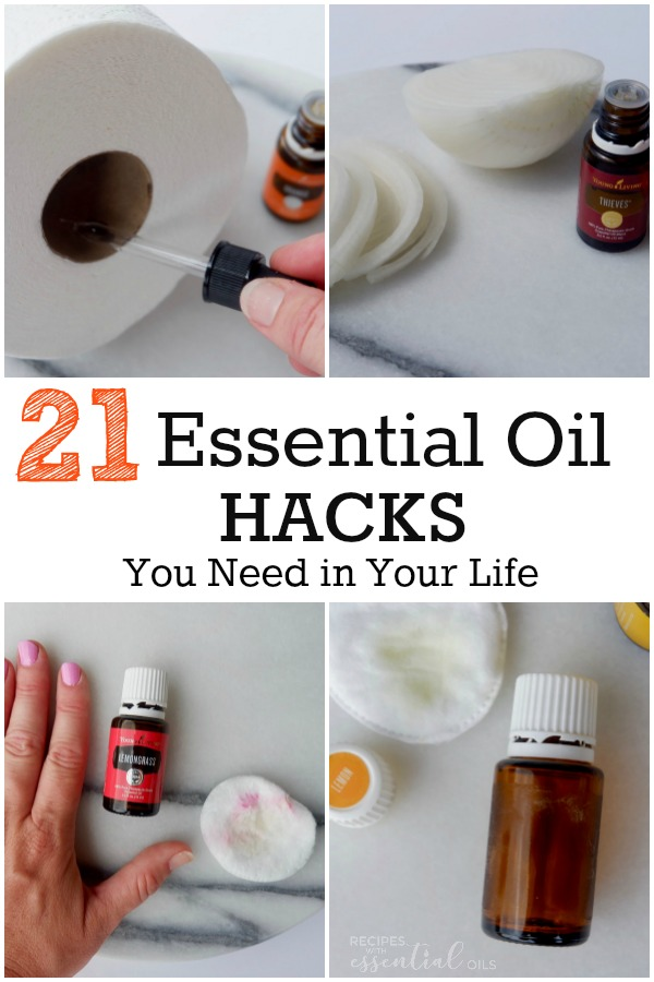 essential oil hacks