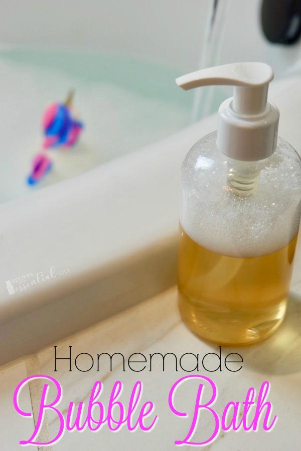 homemade essential oil bubble bath recipe