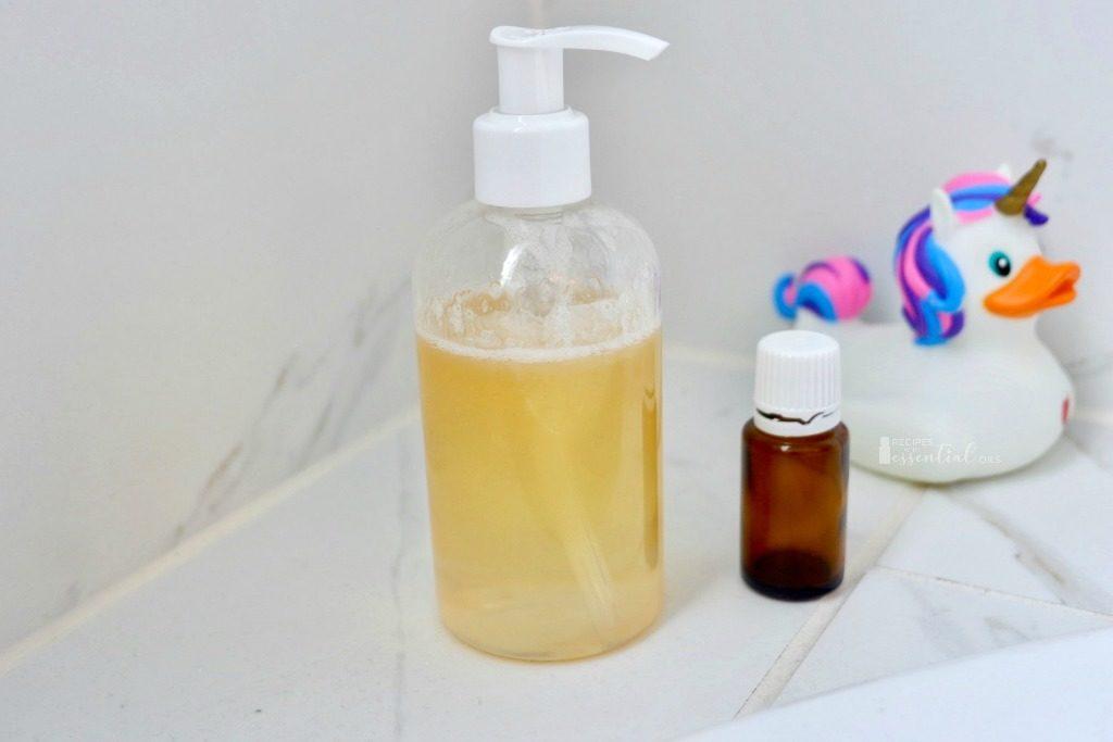 bubble bath recipe using essential oils
