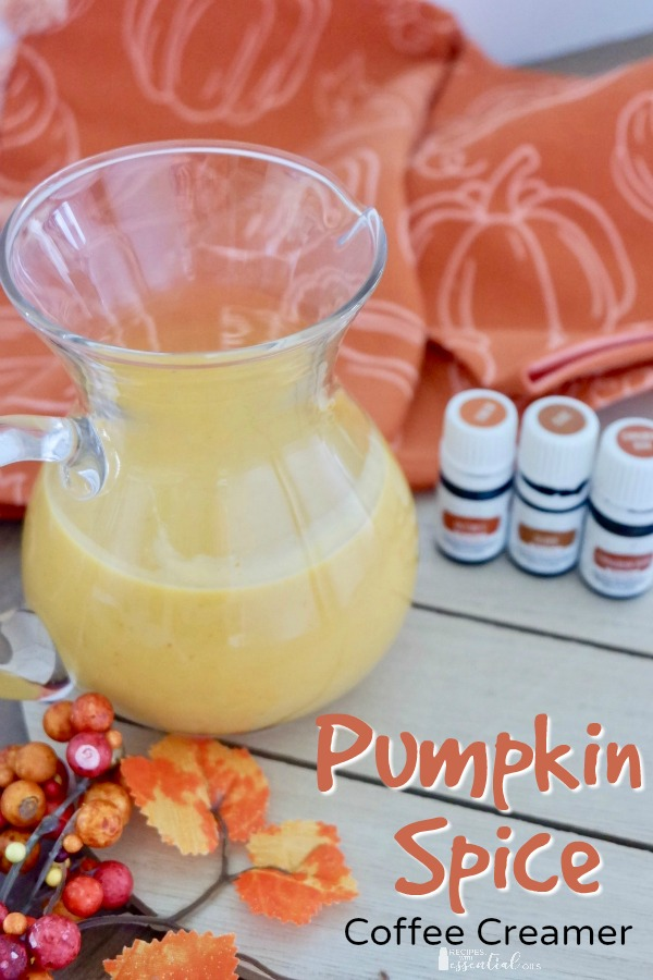 pumpkin spice coffee creamer recipe vitality oils