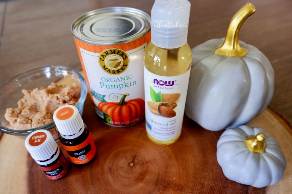 how to make a pumpkin sugar scrub natural ingredients
