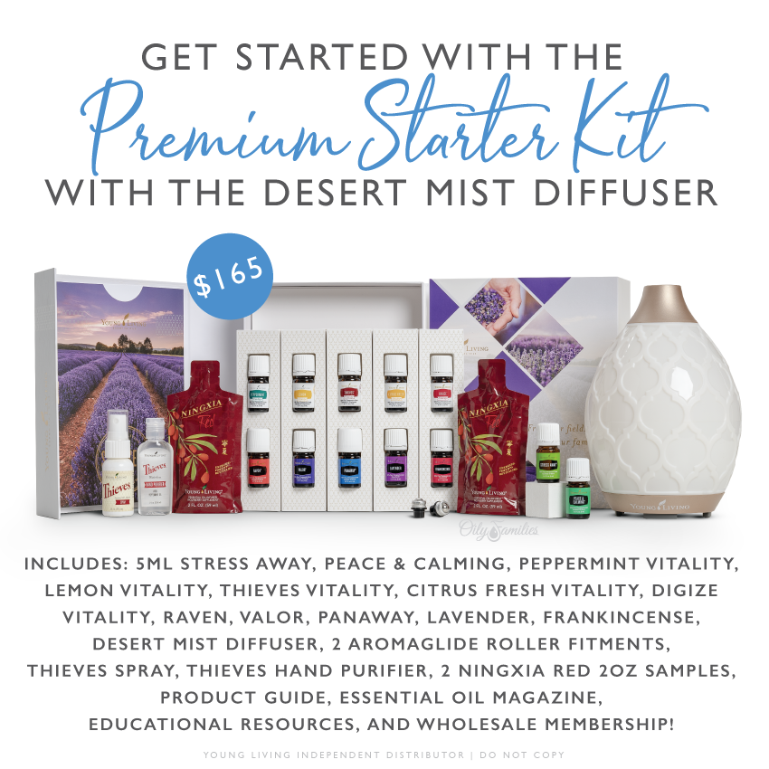premium starter kit young living essential oils
