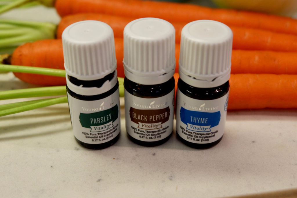 young living vitality oils soup recipe