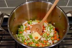 vegetables medley soup