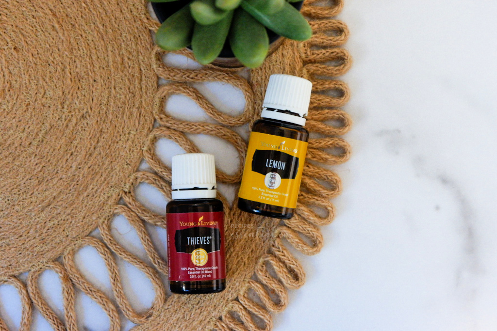 thieves lemon blend essential oils young living