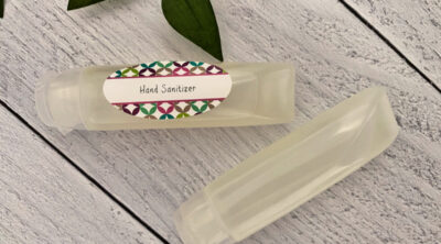 hand sanitizer gel recipe DIY homemade