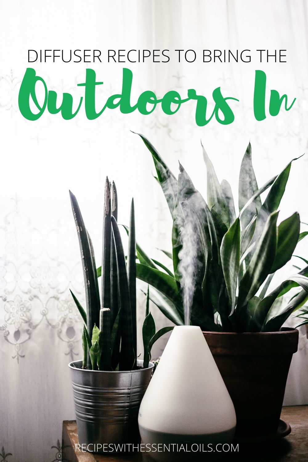 diffuser recipes to bring the outdoors in