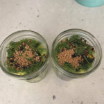 dill pickles with red pepper flakes mustard seeds