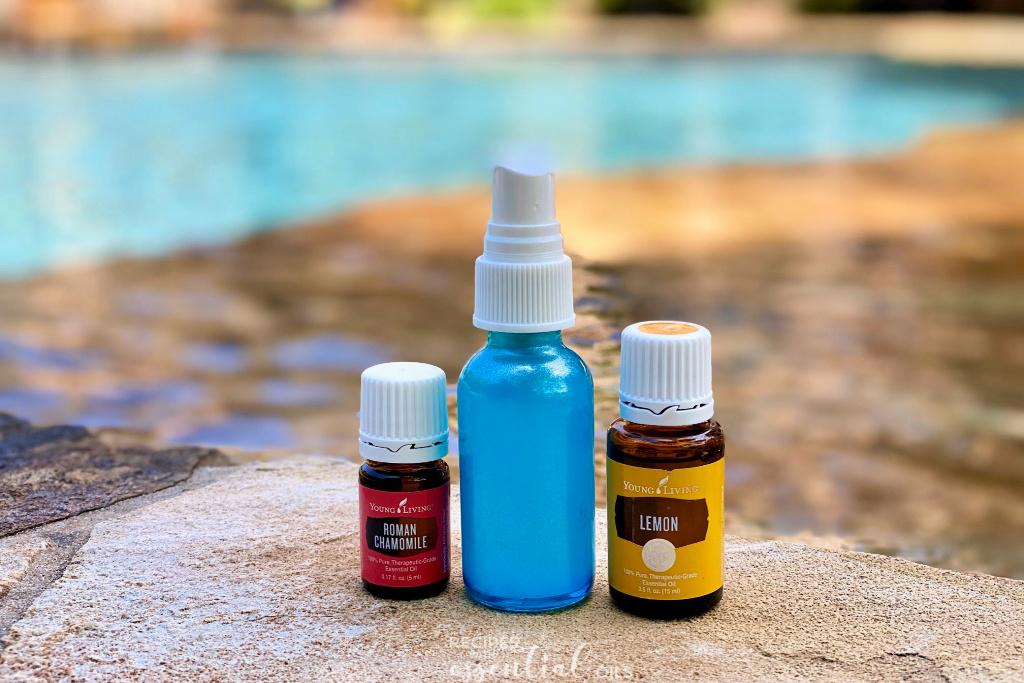 lighten hair with essential oils
