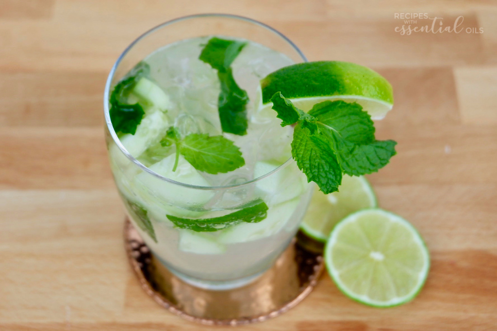 cucucumber lime mojito recipe