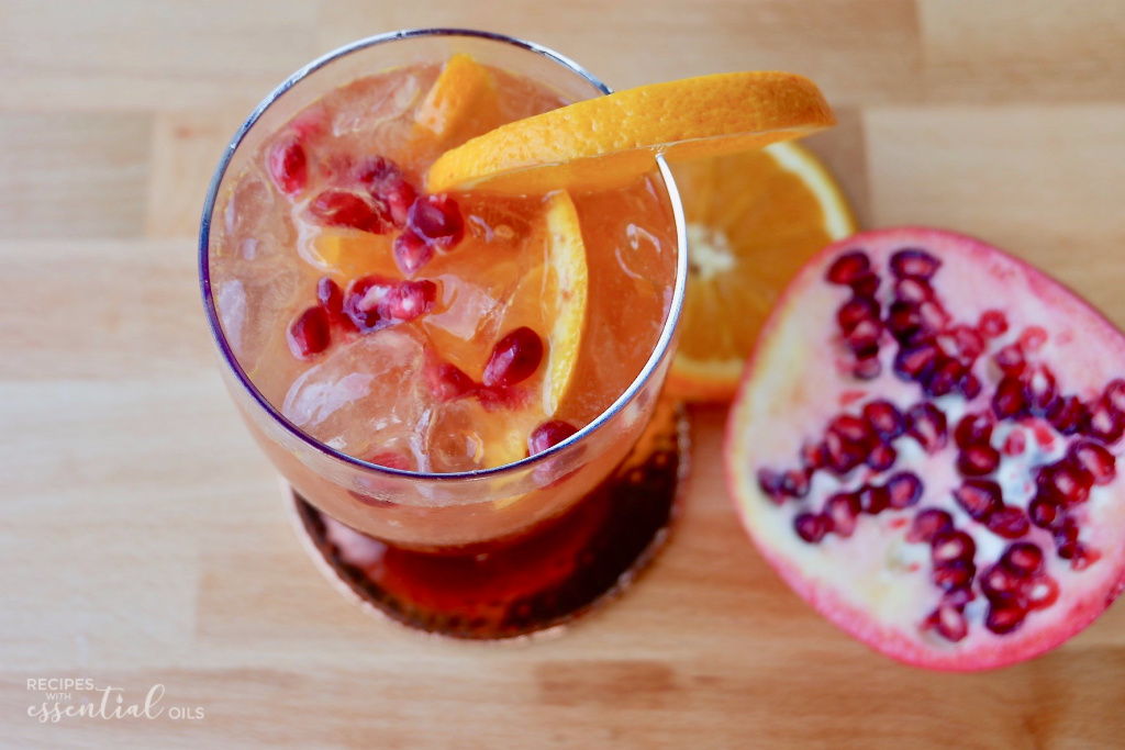 pomegranate orange punch recipe with ginger