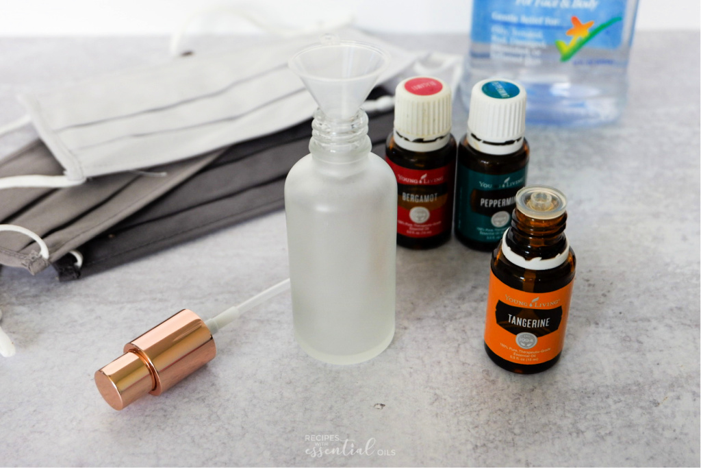 Essential Oil Mask Spray Recipes With Essential Oils