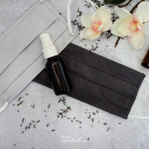 essential oil mask spray recipe