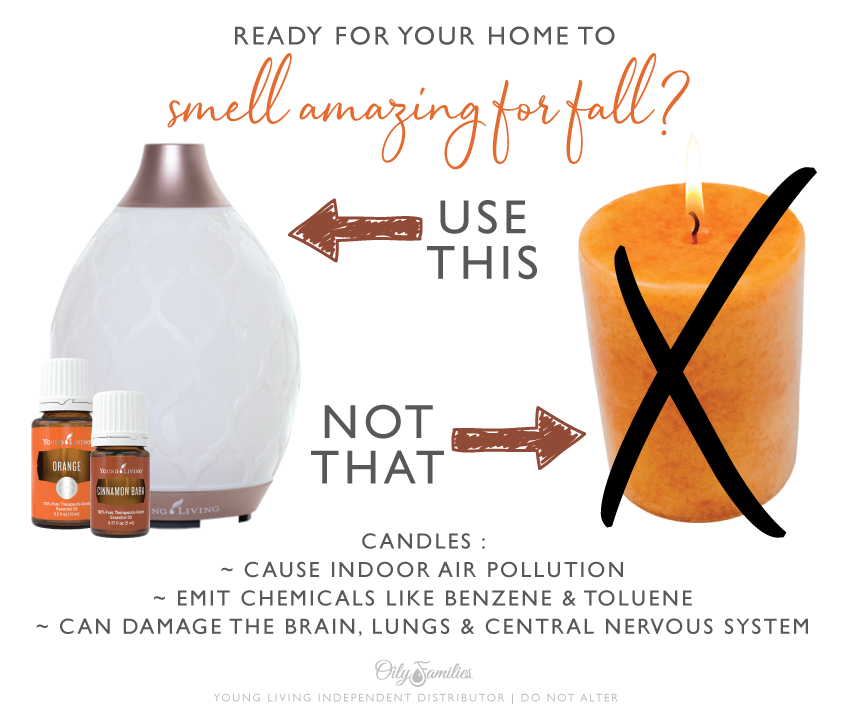 diffusers vs candles essential oils