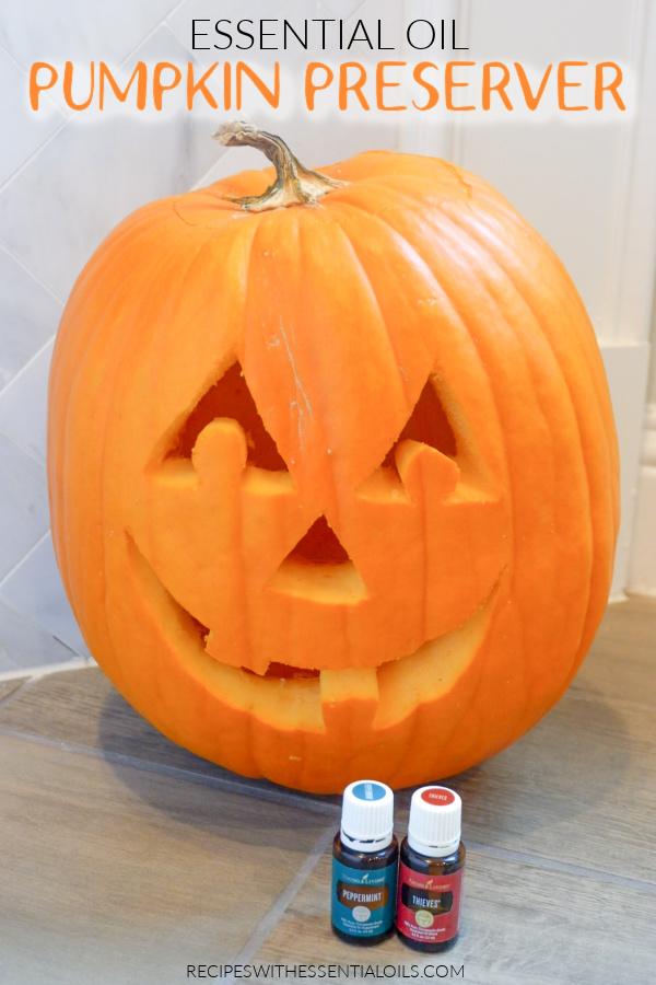 Essential Oil Pumpkin Preserver
