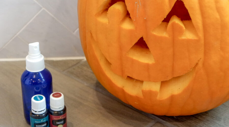 essential oil pumpkin preserver spray