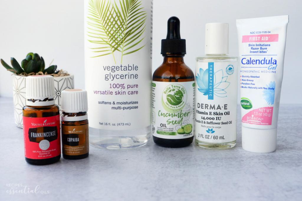 DIY Eye Serum Natural Ingredients