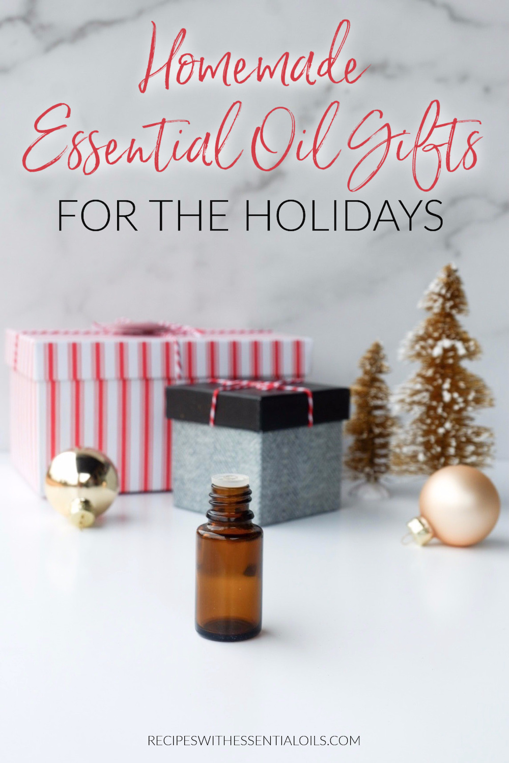 homemade essential oil gifts