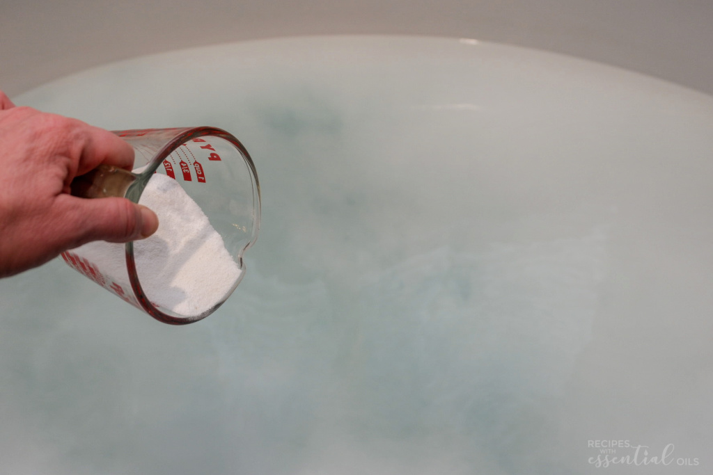 Towel Stripping Soak