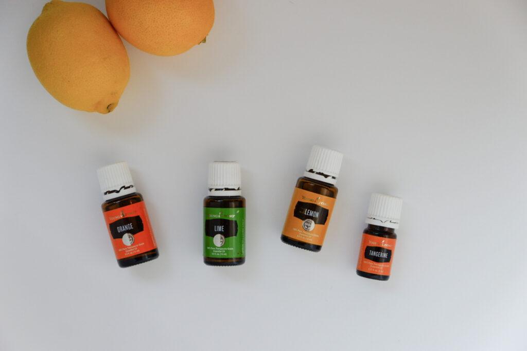 Citrus Essential Oil Substitutes