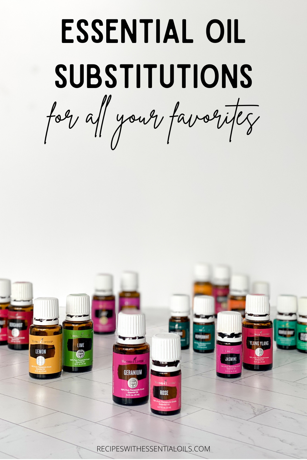 essential oil substitutions young living